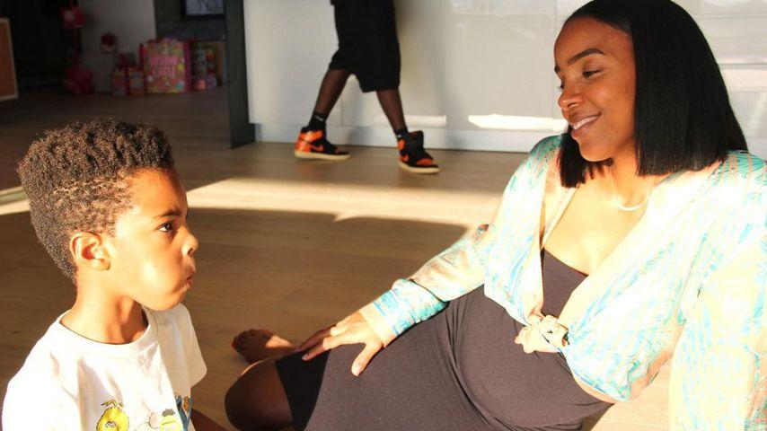Kelly Rowland mit ihrem Sohn Titan, 2020