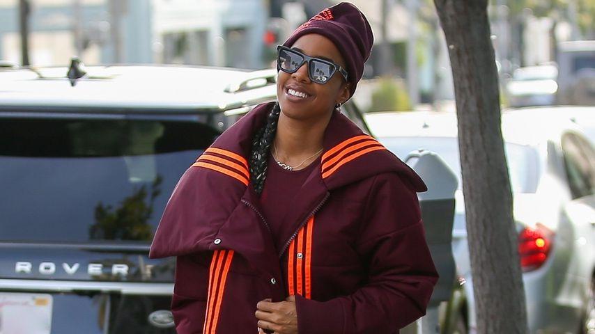 Kelly Rowland in der Ivy-Park-Kollektion im Januar 2020