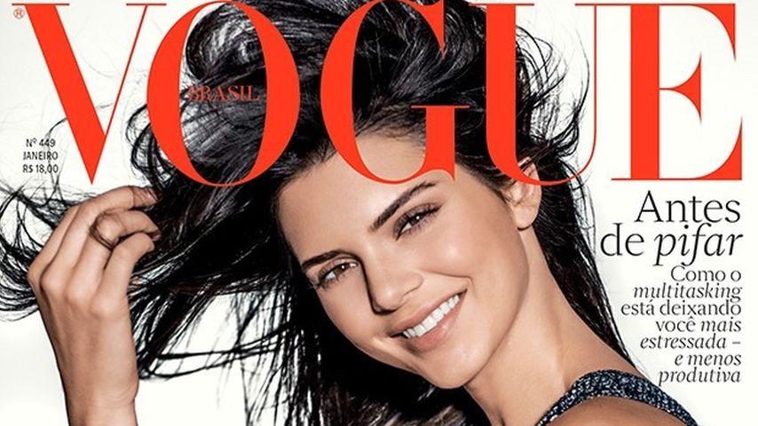 Mega-Cover zum Jahresende: Kendall Jenner auf der Vogue!