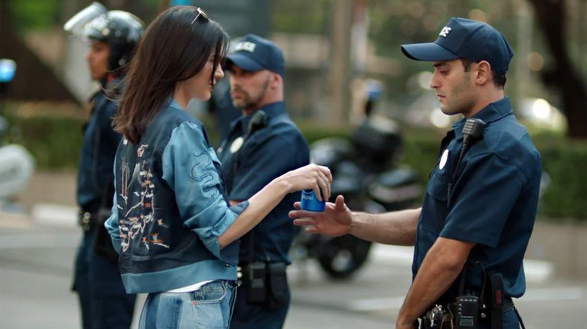 Kendall Jenner im Pepsi-Werbespot