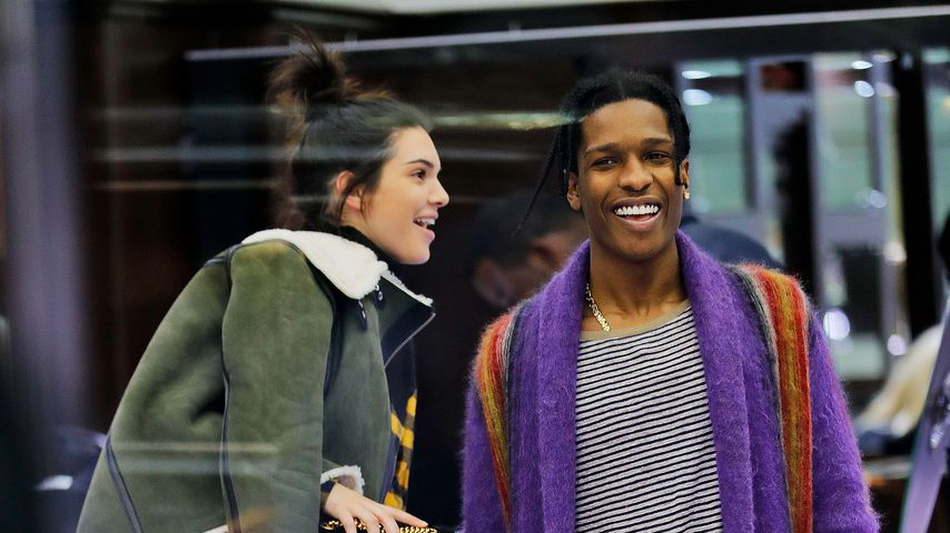 Kendall Jenner und A$AP Rocky in NYC