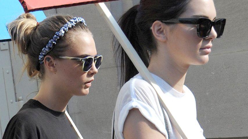 Mädels-WG? Cara Delevingne zieht zu Kendall Jenner