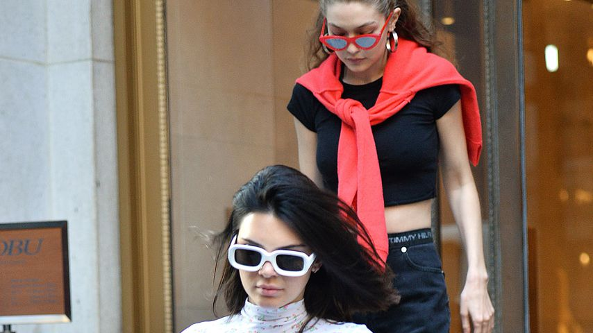 Kendall Jenner und Gigi Hadid in NYC