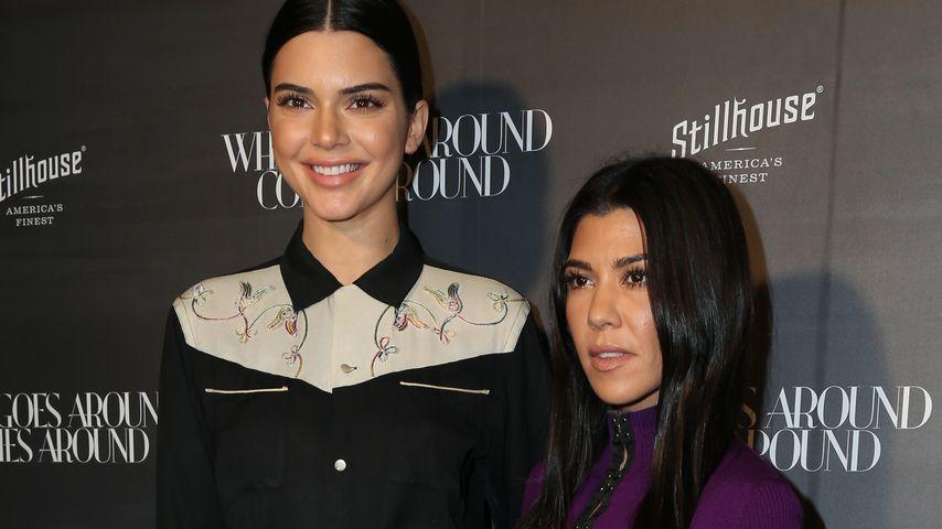 Kendall Jenner und Kourtney Kardashian