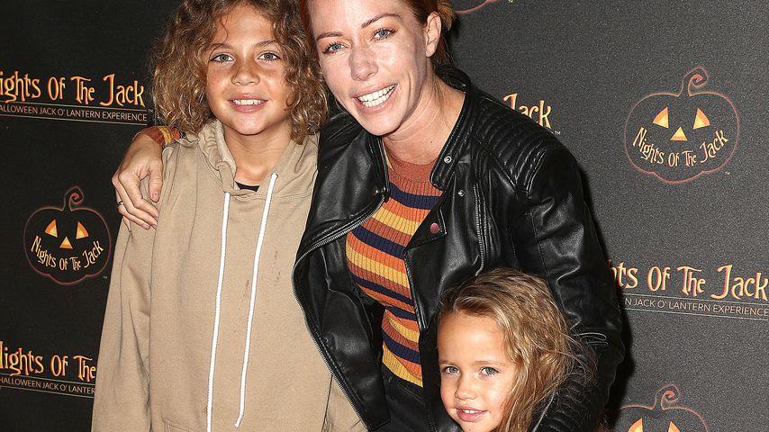 Kendra Wilkinson mit ihren Kindern