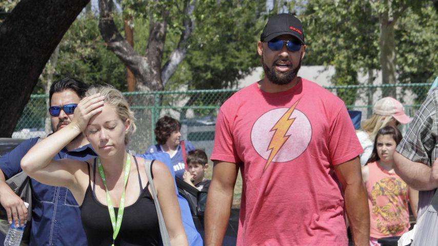 Kendra Wilkinson und Hank Baskett in Los Angeles