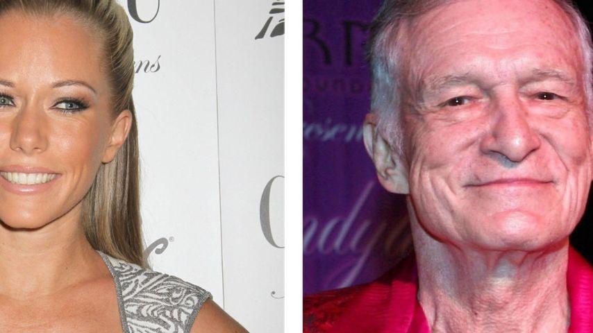 Besorgt: Kendra Wilkinson fürchtet Tod von Ex Hugh Hefner