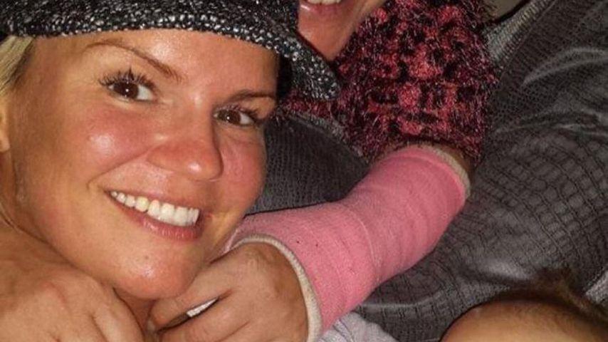 Kerry Katona mit ihrer Tante Angela