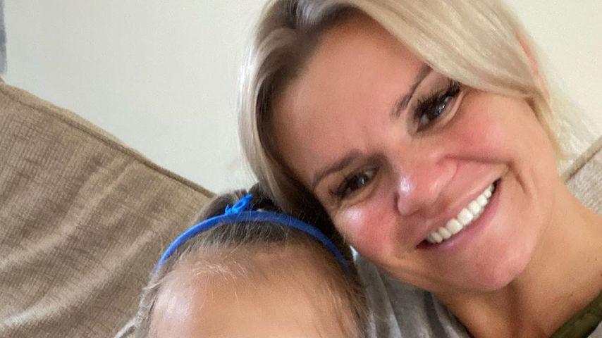 Kerry Katona und Tochter Dylan-Jorge, September 2020