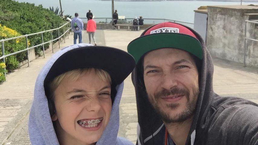 Kevin Federline und sein Sohn Sean Preston