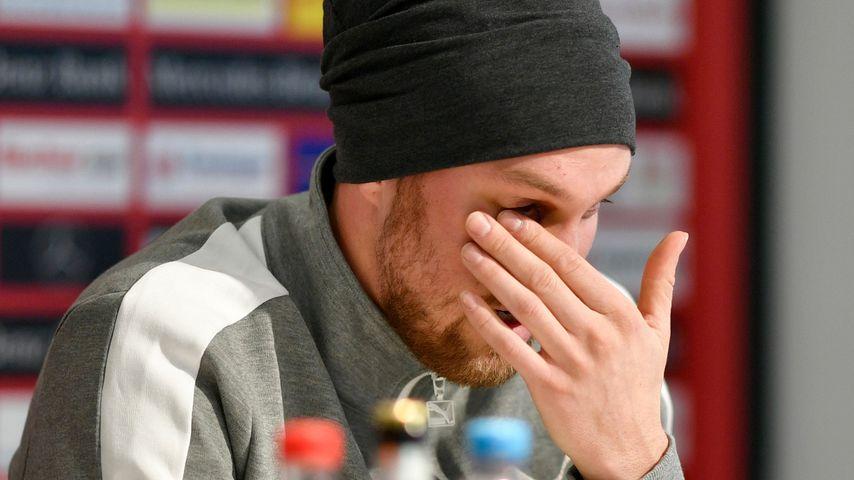 Auf Pressekonferenz: Kevin Großkreutz bricht in Tränen aus!