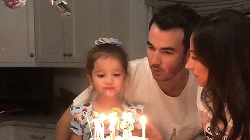 So rührend gratuliert Kevin Jonas Töchterchen zum Geburtstag