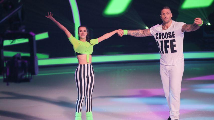 """Kevin Kuske und Myriam Leuenberger in der ersten """"Dancing on Ice""""-Show"""