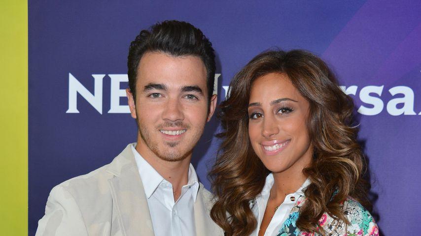 Kevin und Danielle Jonas im Juli 2012