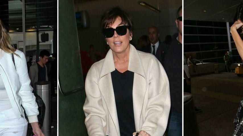 Ausgefeiert: Die Kardashians sind wieder zu Hause