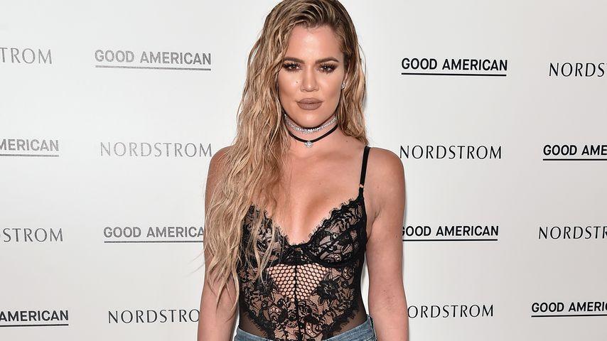 "Khloé Kardashian bei der ""Good American""-Eröffnung 2016"