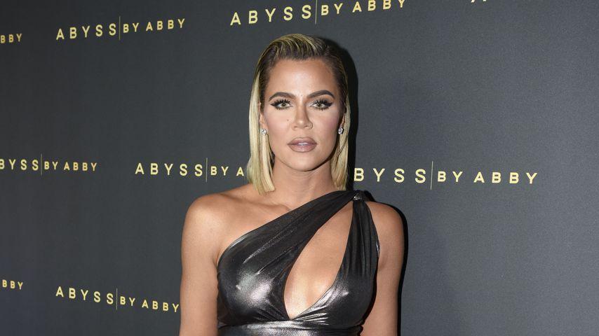 """Khloé Kardashian bei der """"Abyss By Abby""""-Gala im Januar 2020"""