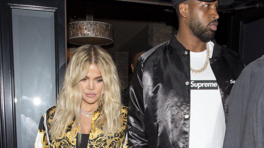 Khloe Kardashian und Tristan Thompson im August 2018