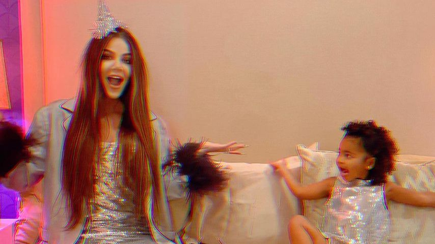 Khloé Kardashian und True Thompson im Dezember 2020