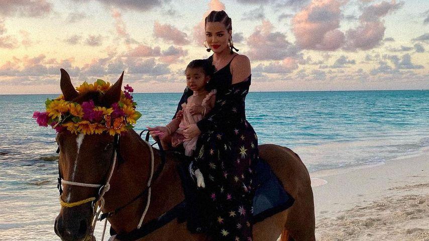 Khloé Kardashian und True Thompson