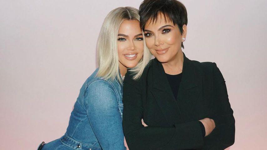 Khloé Kardashian und Kris Jenner