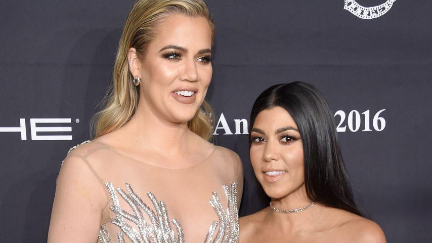 Khloe und Kourtney Kardashian beim Angel Ball, 2016