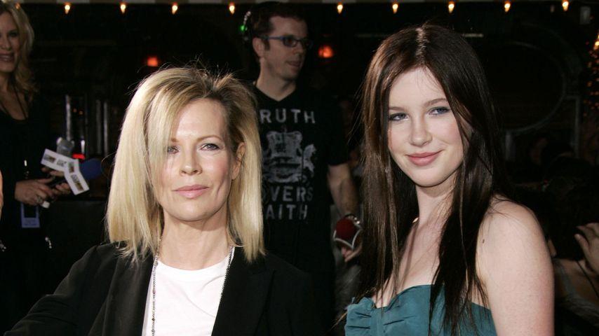Kim Basinger und Ireland Baldwin im Jahr 2008