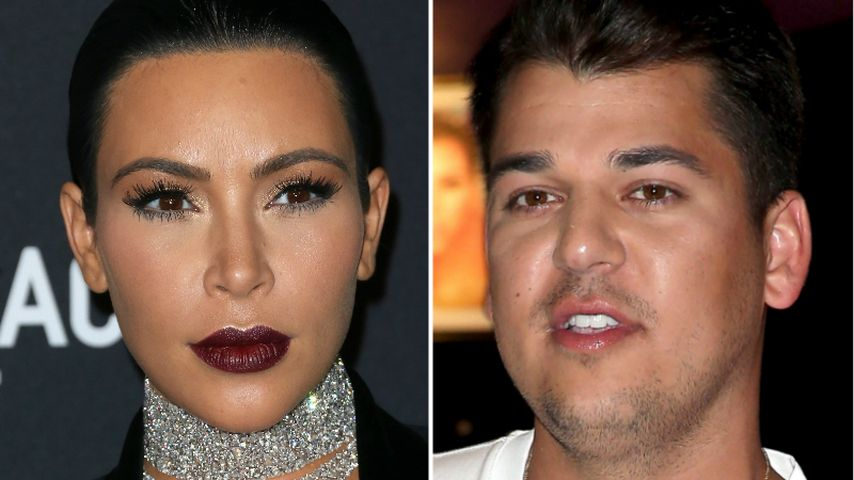 Fieser Diss: Kim Kardashian lästert über Robs Körpergewicht