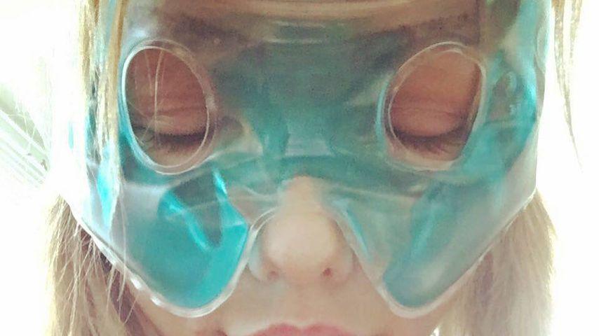 Kim Gloss' OP-Qualen: 1. Selfie nach Haartransplantation