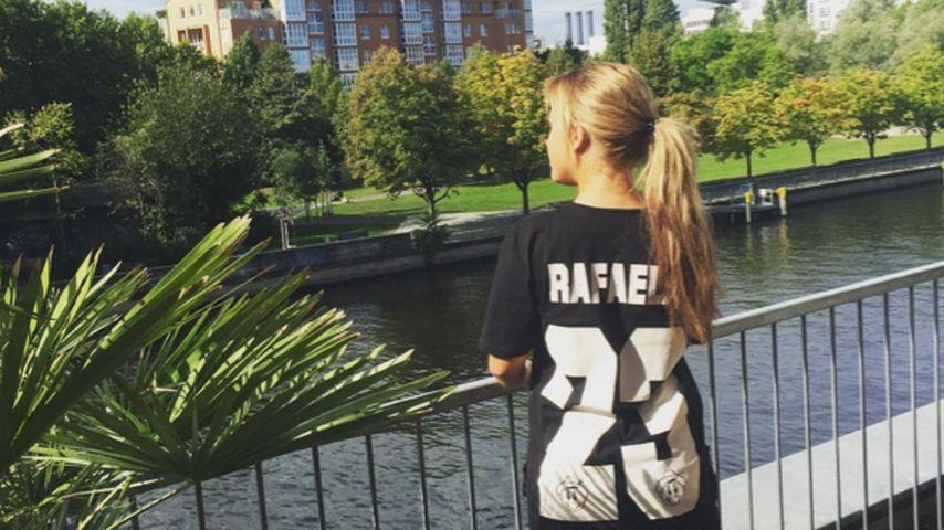 Kim Gloss' Shirt-Rätsel: Was läuft mit Rafael van der Vaart?