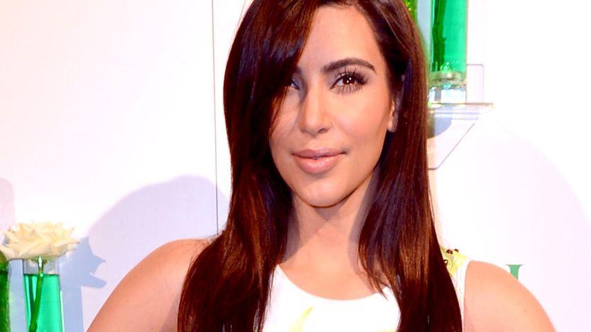 Kim Kardashian zeigt sich ungewohnt natürlich
