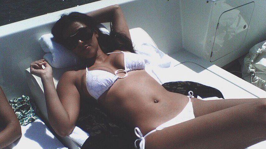 Nach Kylies Baby-News: Kim postet erst mal ein Bikini-Foto