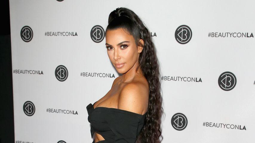 Während das Baby schläft: Kim Kardashian büffelt fürs Examen