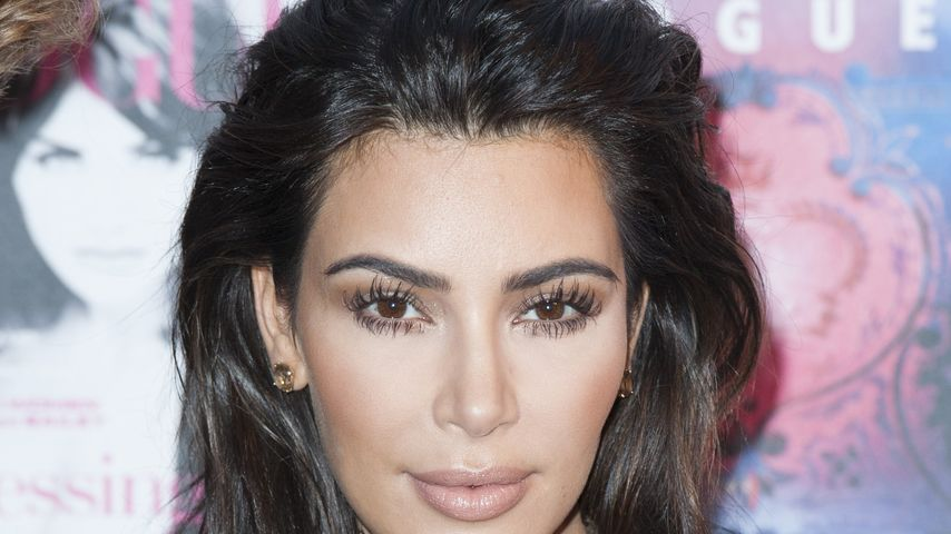 Kim Kardashian bei der Vogue-Gala in London
