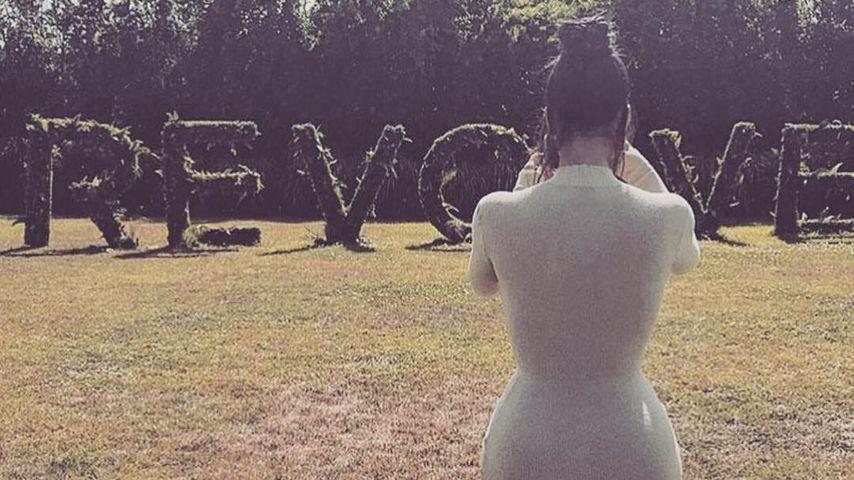 """Kim Kardashian bei einem """"Revolve""""-Event in den Hamptons"""