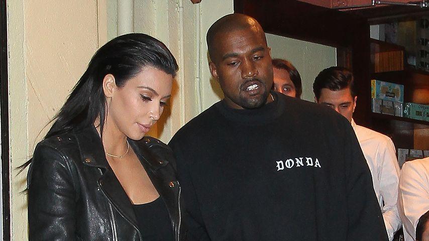 Kim Kardashian & Kanye: Künstliche Befruchtung gescheitert