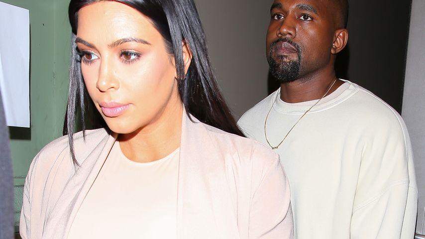 Baby-Zoff bei Kim & Kanye: Sie streiten um Kind Nummer 3!
