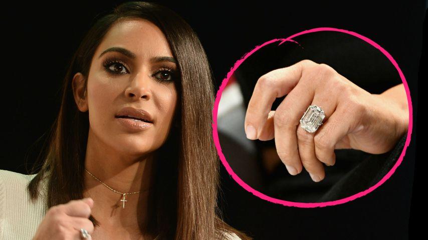 Eingeschmolzen? Neue Details zu Kims gestohlenem Ring!