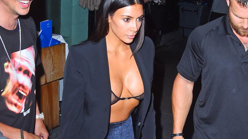 Kim Kardashian in New York
