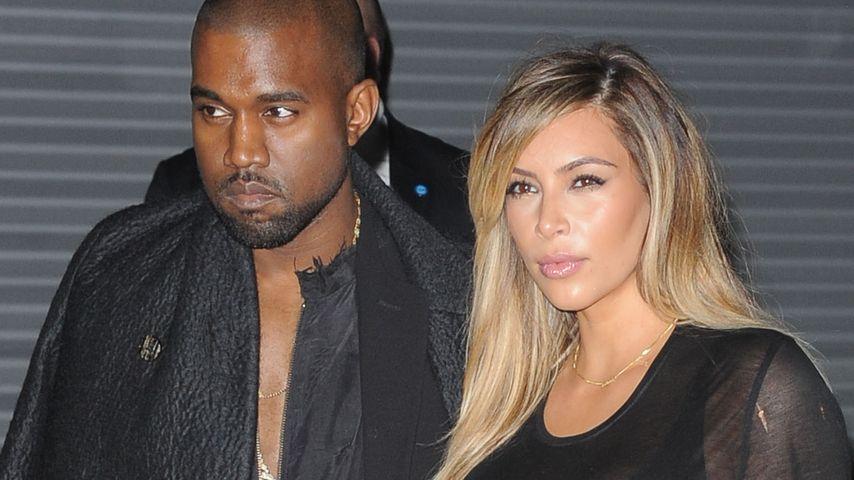 Kim Kardashian: Als Pellwurst auf die Fashion Week