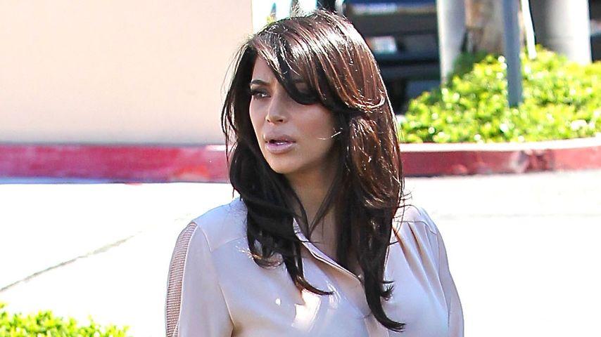 Kim Kardashian: Probleme in der Schwangerschaft