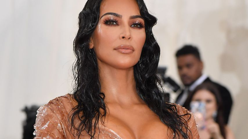 Kim Kardashian in ihrem Thierry Mugler-Kleid