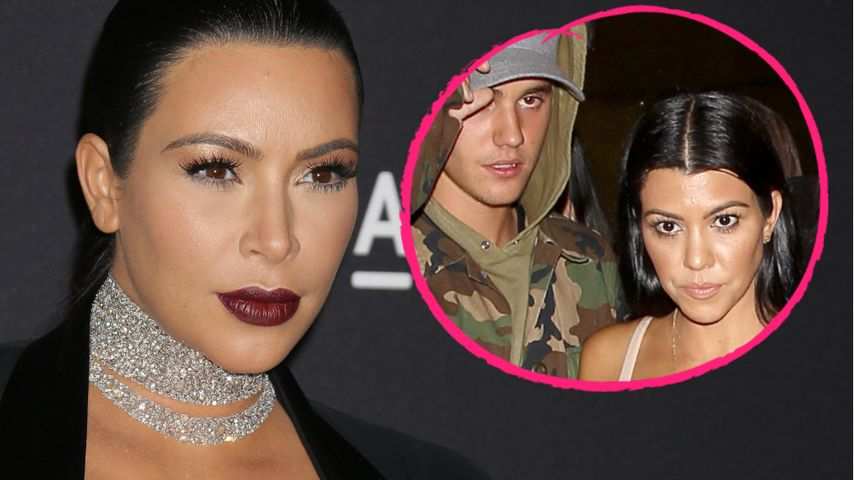"""Kim Kardashian zu Biebs-Dates: """"Kourtneys Getue ist eklig"""""""