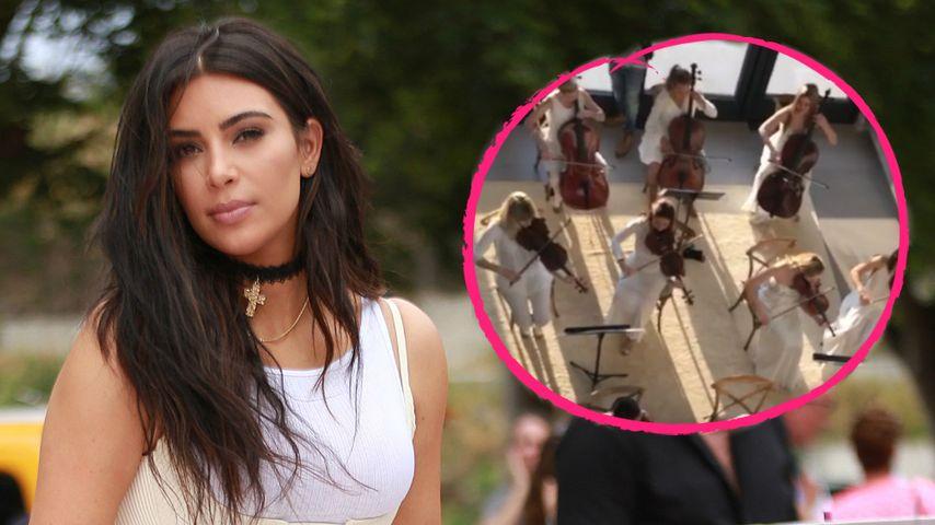 Mega-Muttertag: Kanye West weckt Kim mit Live-Orchester