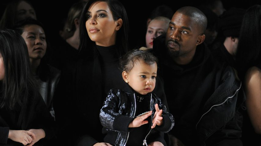 Kleine Styling-Queen: North West steht total auf Make-up
