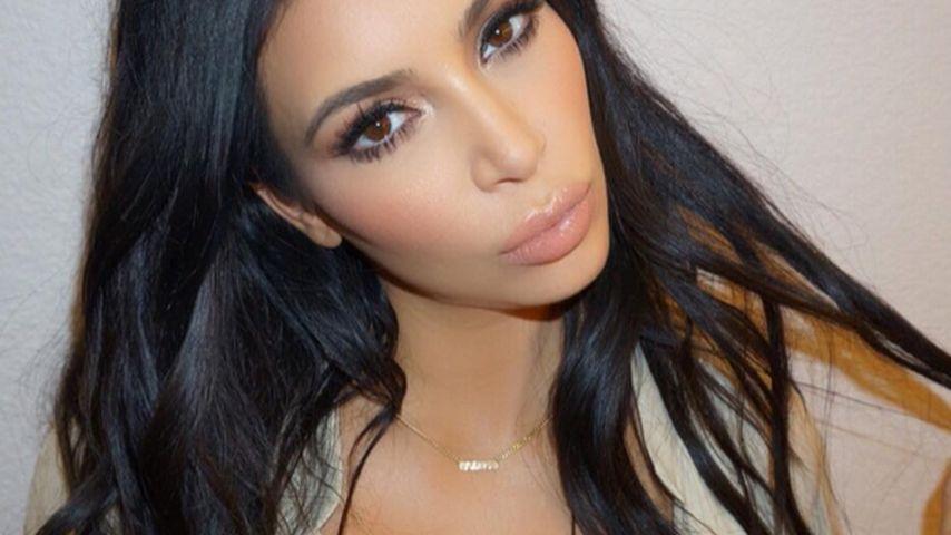 Nackt und mit Baby-Kugel: Kim Kardashian plant Fotoshooting