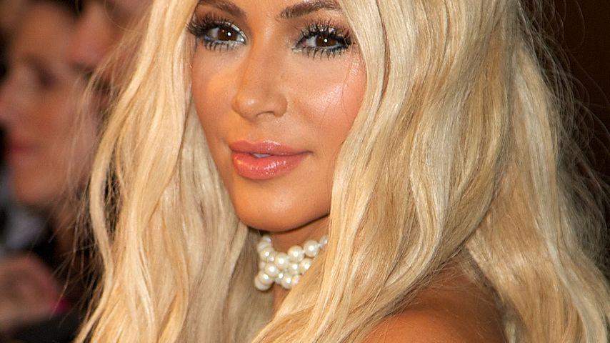 """Bleibt Kim Kardashian beim """"Meerjungfrauen-Blond""""?"""