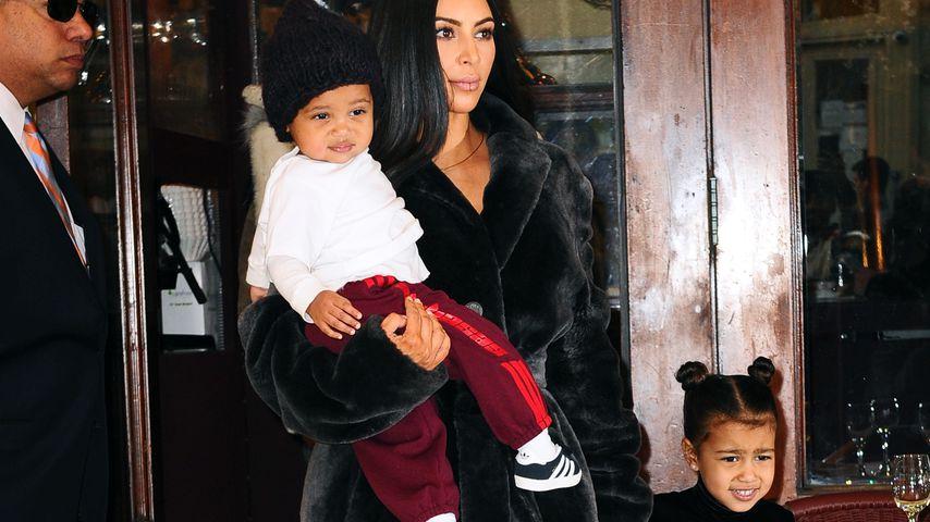 """Kim Kardashian: """"North ist einfach schrecklich zu Saint!"""""""