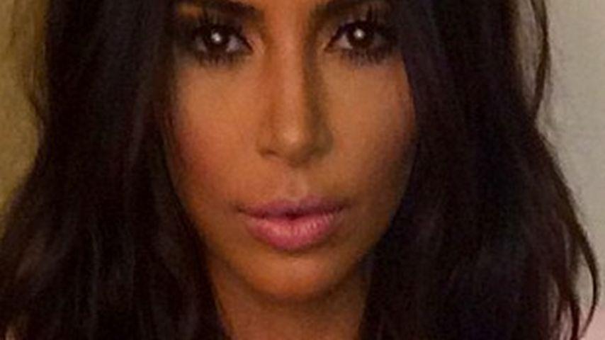 """Kurios: Kim Kardashian protzt mit """"neuer"""" Frisur"""