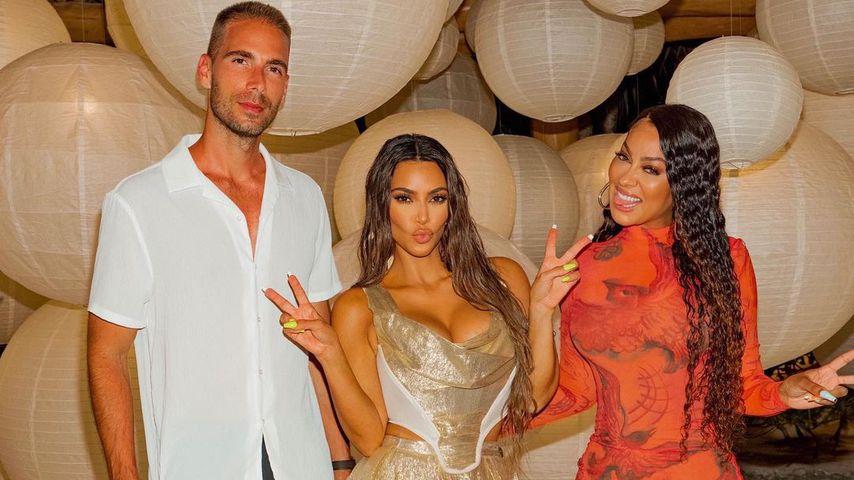 Kim Kardashian mit La La Anthony, 2020